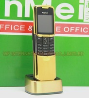 Original Nokia 8800 Classic Mobile Phone 2G GSM Unlcocked 8800 Russian Arabic English Keyboard & Gold
