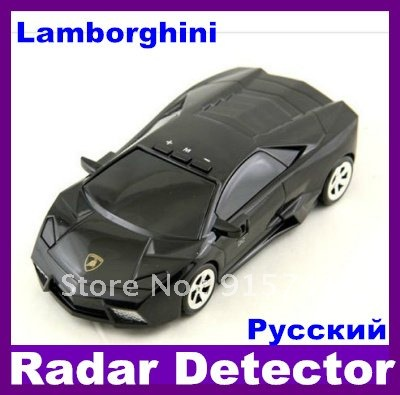 Model car radar Car Anti-Radar Detector Russina/English Speaking vehicle speed control detector high quality free shipping(China (Mainland))