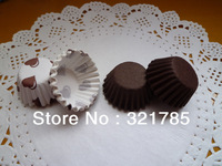 300pcs per lot  High temperature 5.5CM paper Cake Cup  liners baking cupcake cases  Muffin Cake Tray  Mini cups
