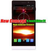 "K-touch Nibiru H1 Nibiru H1c Explore Dual Sim Android Phone 5.0""IPS MTK Processor 2G RAM 16G ROM Multi-language Fast Shipping"