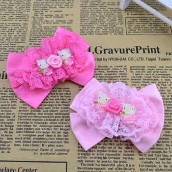 Min order is $10 ( mix order ) Fashion Cute kitty hairpin children princess kid's girl party gift hair accessories H155