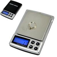 Holiday Sale 2000g x 0.1g Pocket Digital Weigh Jewelry Scale Balance Free Shipping 6773  B16
