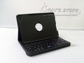Bluetooth keyboard with rotating cover case holster for ipad mini protective sleeve to rotate 360 degrees FREE SHIPPING