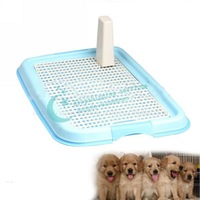 Hot Sell Easy Use Practical Puppy Dog Cat Indoor Plastic Pet Toilet Pad Tray New Hot Drop Shipping/Free Shipping