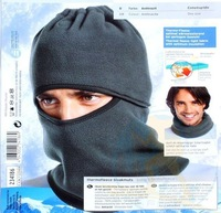 Black Warm Full Face Cover Winter Ski Mask Beanie Hat Scarf Hood CS Hiking,winter hat,Free shipping OS1259