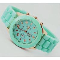 Geneva Casual Watch Women Dress Watch 2015 Quartz Military men Silicone watches Unisex Wristwatch Sports watch