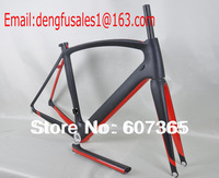 FREE SHIPPING SPECILIZED FRAME BLACK MATT+ RED GLOSSY  CARBON BICYCLE BIKE FRAME FM098, INCLUDE FORK/FRAME/SEATPOST/SEAT CLAMP