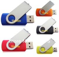 Swivel USB Drive 1GB 2GB 4GB 8GB 16GB 32GB for choices Customized logo True Capacity  Memory Flash Pendrives Good Quality