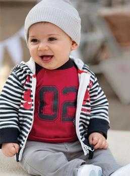 A08,Free Shipping 2014 AUTUMN Kids Suit Boys Set Suit 3pc Long T SHIRT+ Coat+Pants,Baby suit,Boy's clothing SIZE 80-120