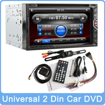 "2015 Newest Universal 7"" HD Gesture Control In Dash 2 Din Stereo Auto Car DVD Player GPS Navigation Audio Bluetooth Radio SD"