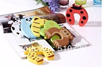 Free shipping! 10pcs/lot Baby Safety Door Stopper Baby Protecting Product Safe Corner Lock For Baby Kids