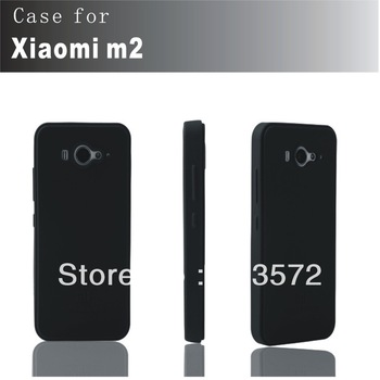 New Square silicon case cover for XIAOMI M2 2 mi2, non oiliness, resist distortion soft CASE For XIAOMI M2s 2s mi2s~~Film free!