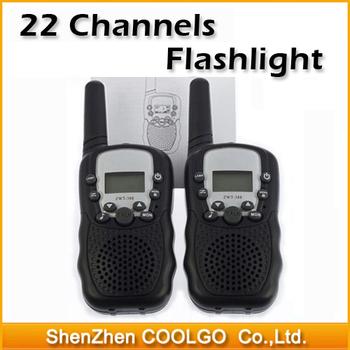 22 Channels Monitor Function Mini Walkie Talkie Travel Bellsouth T-388 Two Way Radio Intercom
