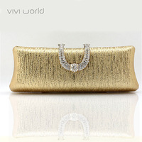 Free Shipping, 2013 hot items, famous designer bag, Classic wedding handbag,  PU Leather Rhinestone clutch purse/ evening bags