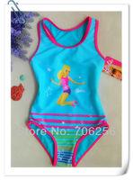 Free Shipping NWT Girls Baby 3-9 Y Swimsuit Swimwear Bathers Tankini Swim Costume