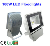Free shipping by Fedex 4 pcs/lot 100W led floodlight 10w led outdoor light AC85-265V Warm white cold white