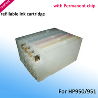 for hp 950 new Refillable Ink cartridge for hp950 hp951 for hp officejet Pro 8100 8600 with ARC chip