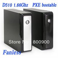 Atom D510 1.66Ghz, 1G RAM, 8G SSD, Fanless pos thin client computer 2013 cheapest IN-D510