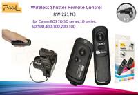 PIXEL RW-221 N3 Wireless Shutter release remote control for 7D 5DSeries 1DSerise 50D 40D 30D 20D 20D 6D10D