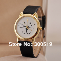 JW011 JW036 New Arrival Fashion Unique Tiger Cat Watch Unisex (beard watch series watch)Free Shipping(China (Mainland))