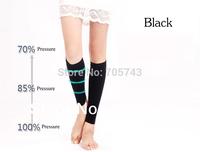 Free shipping via CPAM Unisex compress socks stovepipe sock leg warmers 23-32mmHg pressure