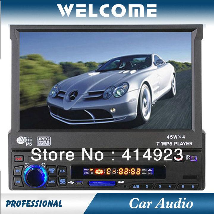 Car Audio MP5-8212 Player in Cars, MP5/RMR/MVB/MP4/WMA USB Interface and SD Card Slot, Car MP5 Player(China (Mainland))