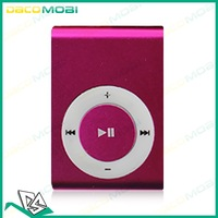 Mini Multi-Color Clip MP3 Music Player For 1G-8G TF Card  1000Pcs/Lot DHL Free Shipping