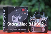 FS FlySky FS-T6 FS T6 2.4G Digital Proportional 6 Channels Transmitter & Receiver w/ LED Screen Mode 1/2 Free shipping wholesale