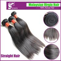 Rosa hair products malaysian virgin hair straight 2 pcs lot virgin malaysian hair straight human hair extension 8-30 Free ship