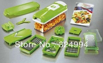 Freefood slicer Shipping food slicer As Seen On TV,Dice Chop Julienne Fruit Vegetable Multi-Chopper,Food Slicer,1piece/lot
