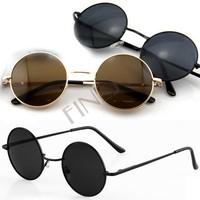 New Vintage Tortoise Frame Lens Retro Round Sunglasses Eyeglasses Glasses Free shipping 5461
