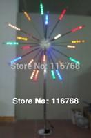 AC24V 2.5M 6 Colors Multi-function Outdoor Landscape Lighting Stainless Steel Pole LED Garden Fireworks Flashlight