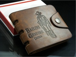 Free shipping 2013 Bailini new stylish Men wallet+genuine cow Leather +Pockets RFID Card Clutch Cente Bifold Purse dropshipping(China (Mainland))