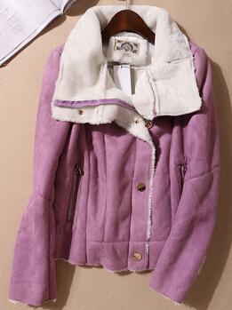 Free shipping 2014 women slim long-sleeve outerwear PU motorcycle jacket women's leather clothing female coats suit jackets