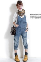 Free shipping Hot Sale Jeans for women/Suspenders Jumpsuit/denim overalls for women/blue jeans