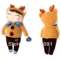 Free Shipping Metoo Fashion Doll,Plush And Stuffed Toy For Kid's And Girls'  Birthday Gifts,31cm,1pc