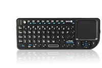 Free shipping!! Bluetooth wireless qwerty mini keyboard with touch pad,backlight, laser point(K02)