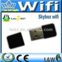 USB Wifi  for Original Skybox 1080pi Full HD satellite receiver support cccam MGcam Newcam DVB-S receiver christmas sale