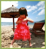 2013 next Retail summer girl dress girl  3~11Age tutu dress baby clothing