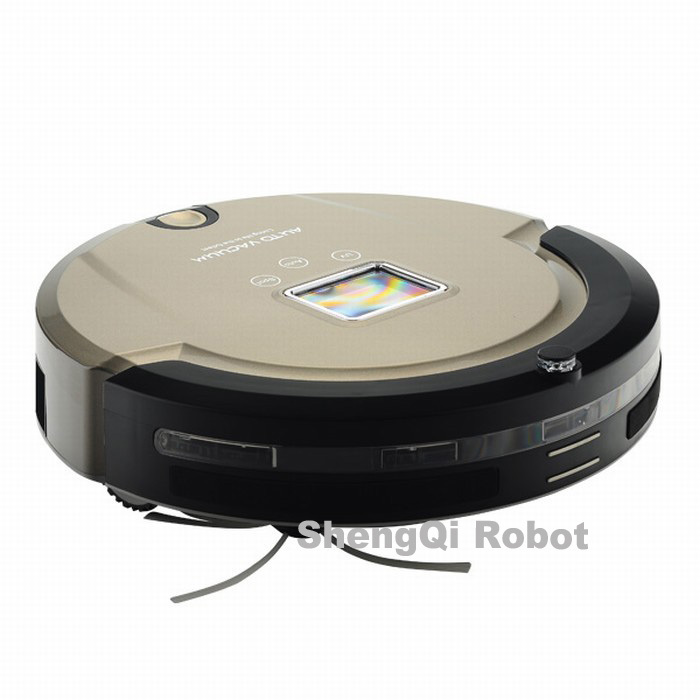 ( EMS shipping to the world) Long Work Time|Sweep|Mop|UV Sterilize|LCD Display|Touch Screen Robot Vacuum Cleaner