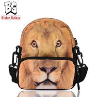 Animal printed belt bag polyester waist bags cute zipper shoulder bag animal printing multifunctional sport bag BBP111W