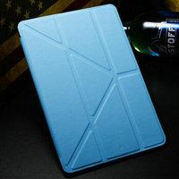 "5 Shapes Magnetic Stand PU Leather case for iPad Mini /Mini Retina 2 7.9"" Smart cover Smartcover for iPadmini Flip Thin Design"