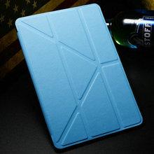 "5 Shapes Magnetic Stand PU Leather case for iPad Mini /Mini Retina 2 7.9"" Smart cover Smartcover for iPadmini Flip Thin Design(China (Mainland))"