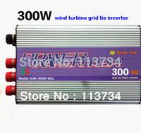 micro wind grid tie 300W inverter for wind turbine generator system dc12V or 24V 22-60V to 220vac 3 phase