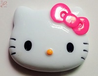 Hot Pink Bow Hello Kitty Face Cabochons Flatback Deco Kits for DIY Phone Cases