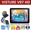 new-arrival in May Visture V97 HD 9.7 Quad Core RK3188 Cortex A9 1.8GHz Retina 2048x1536p Tablet PC Android 4.1 DDR3 2G RAM 5MP