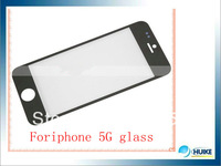 30pcs 100% good  Front Screen Glass Lens Replacement for iPhone 5 OEM black and white