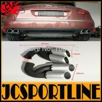 2010-2014 Stainless Steel Car Ehaust Tip Tail Muffler Pipe Quad Fir For  Porshe Cayenne V8 Tubo (Fit For Cayenne V8 Turbo 11-14)