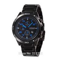Free Shipping CURREN 8021 Round Dial Steel Band Men's Wrist Watch Tungsten steel Calendar Clock Hours relogio