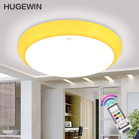 Beautiful color ceiling light HXD606 28W LED ceiling light  four supplementary source:red,blue,yellow,green with control